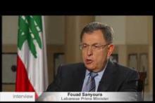Embedded thumbnail for حديث الرئيس فؤاد السنيورة مع euronews
